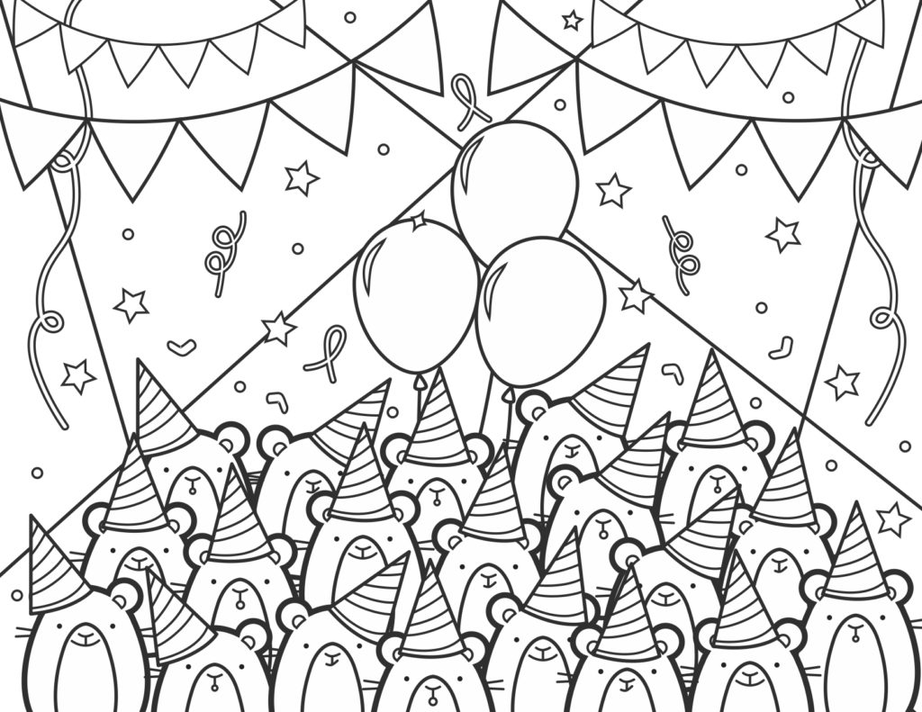 Image of Omlet coloring page